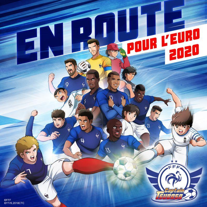 L'Equipe de France de Football et Captain Tsubasa fusionnent !