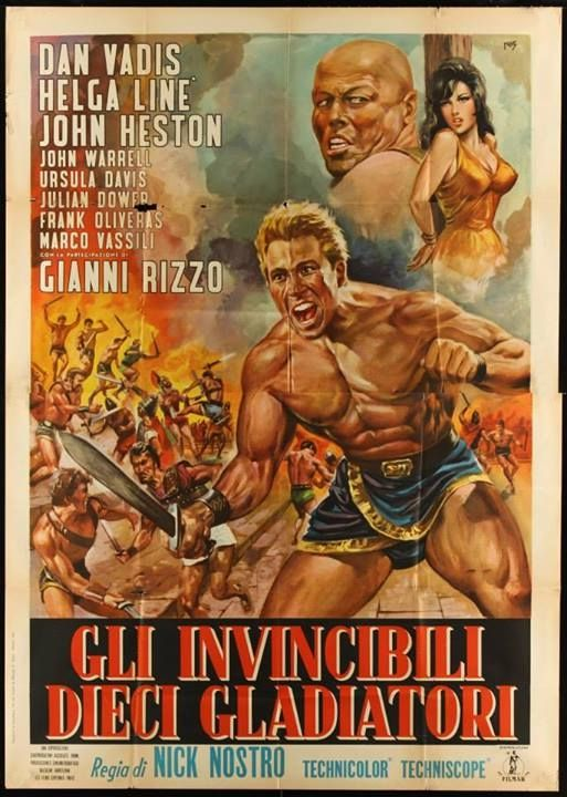 Retour vers le passé :  Spartacus et les Dix Gladiateurs (1964)