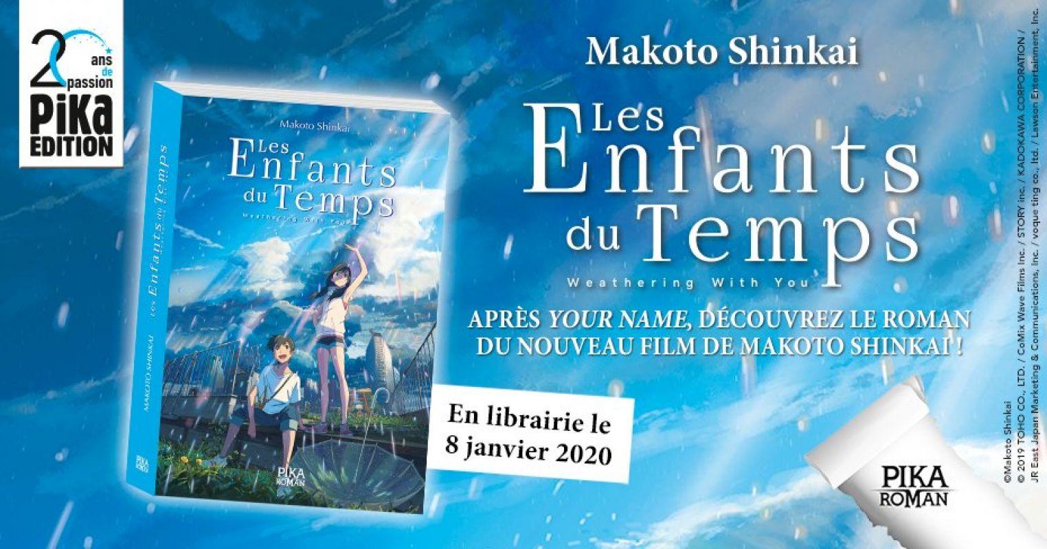 Le roman Les Enfants du Temps chez Pika
