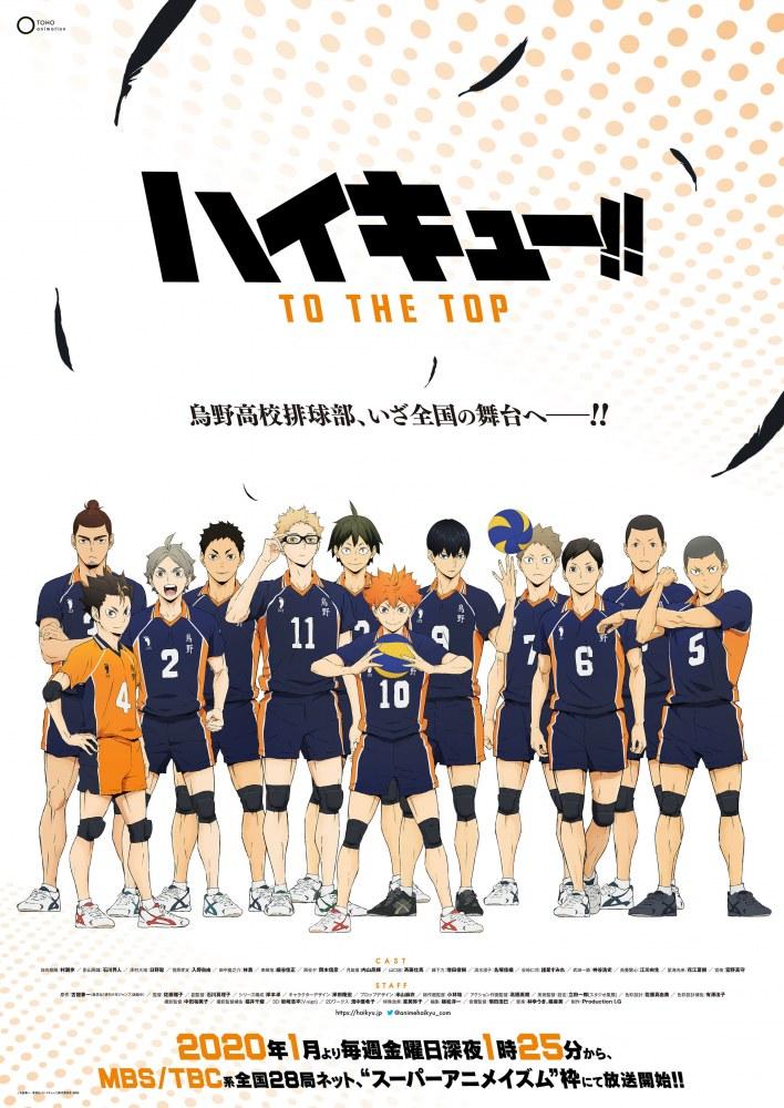 Nouveau teaser pour l'animé Haikyu : To The Top !