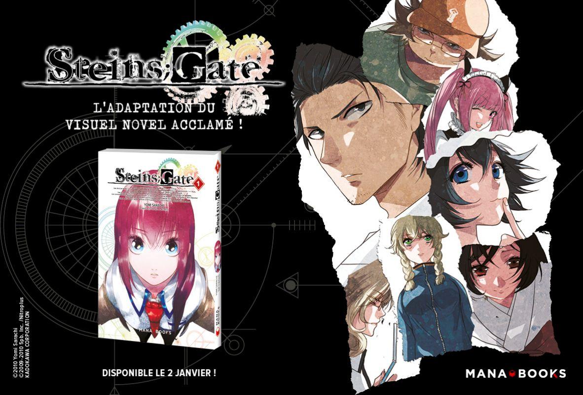 Steins;Gate chez Mana Books