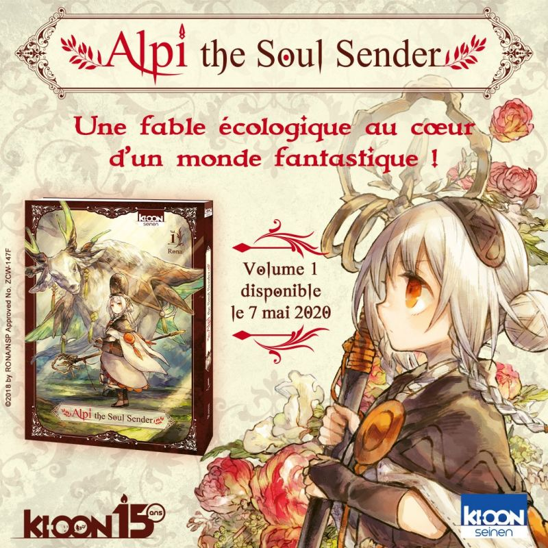 Alpi The Soul Sender chez Ki-oon