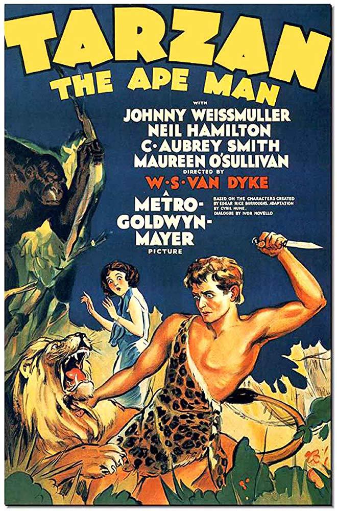 Retour vers le passé :  Tarzan l'Homme Singe  (1932)