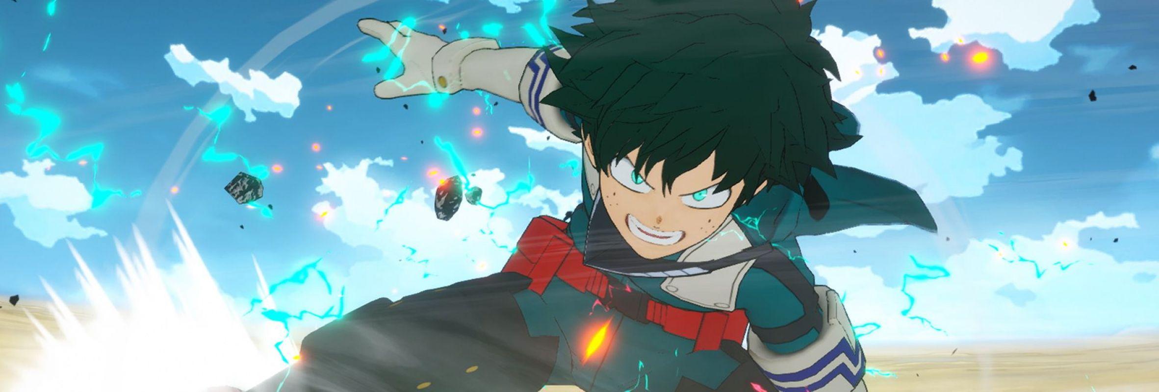 Nouveau trailer pour le jeu My Hero One's Justice 2