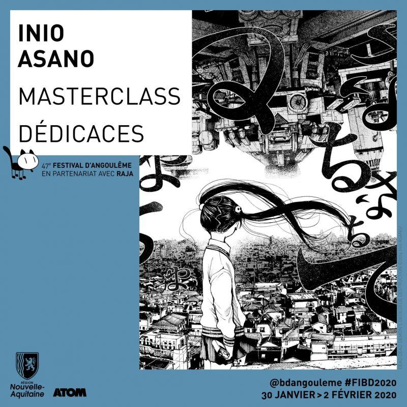 Inio Asano en masterclass au Festival d'Angoulême