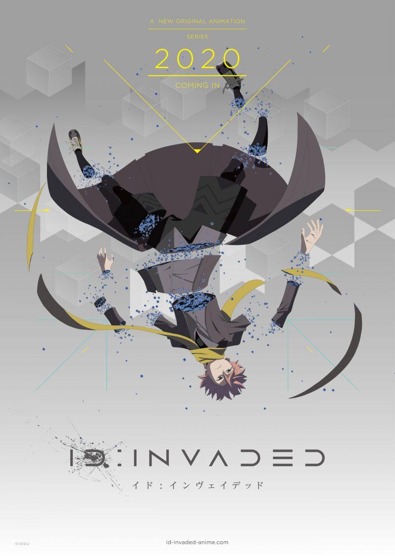 Nouveau trailer pour l'animé ID:Invaded