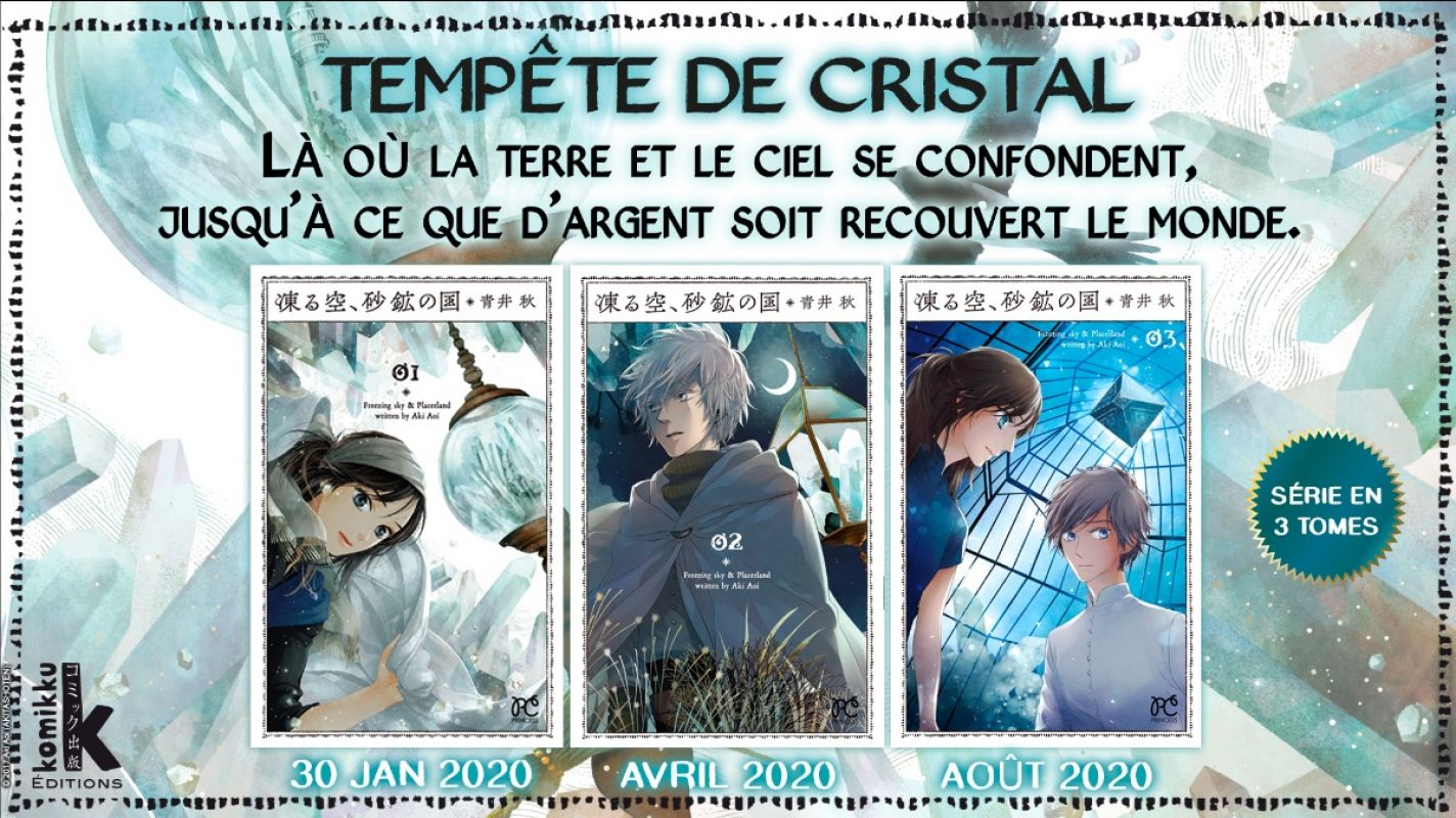 Tempête de Cristal chez Komikku