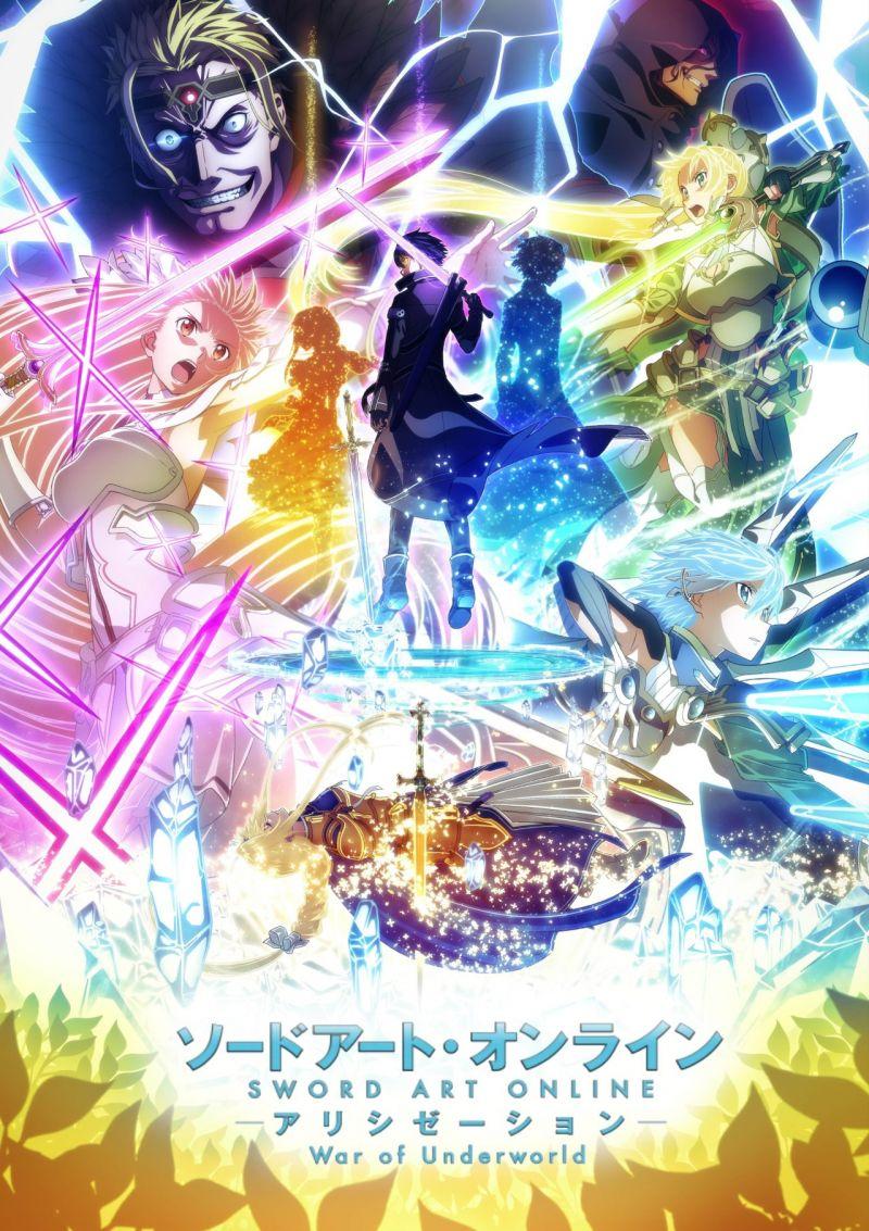 La seconde partie de Sword Art Online Alicization War of Underworld daté