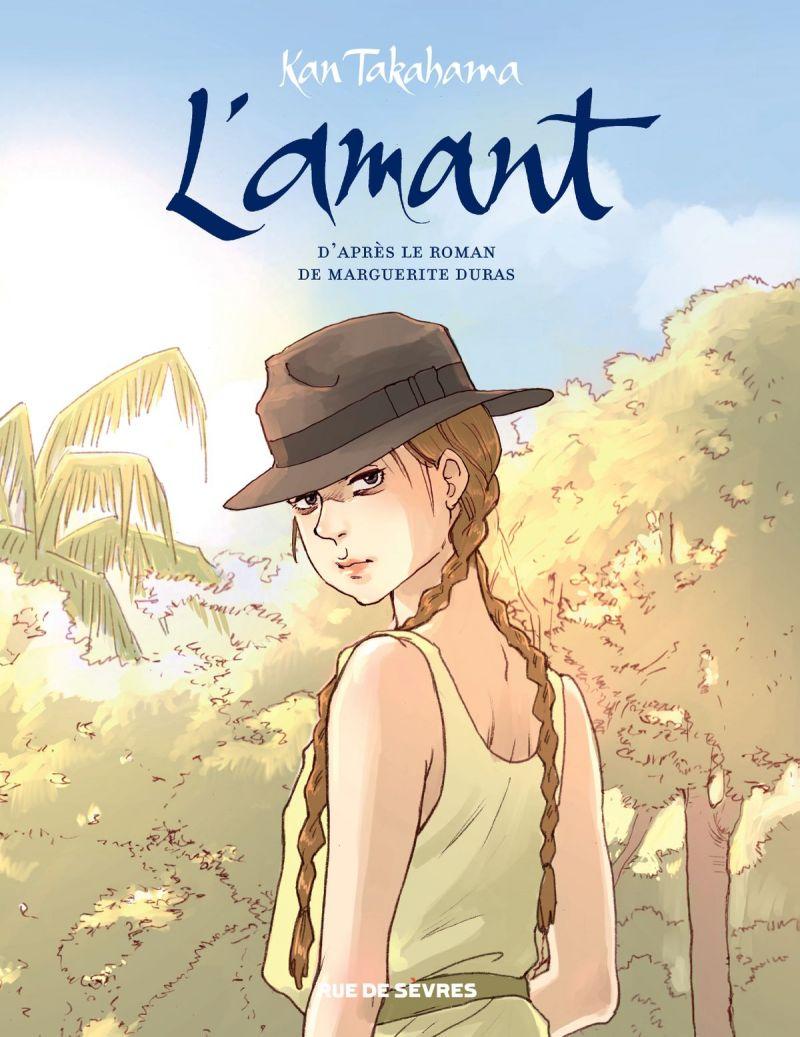 Le roman L'Amant adapté en BD par Kan Takahama