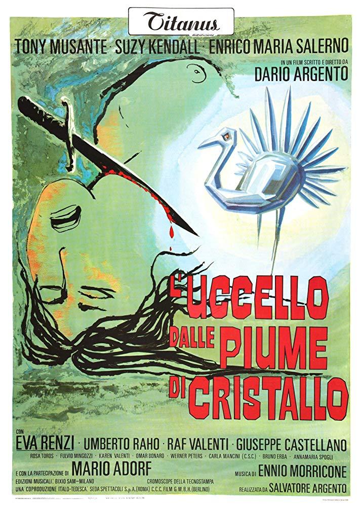 Retour vers le passé :  L'Oiseau au Plumage de Cristal (1970)