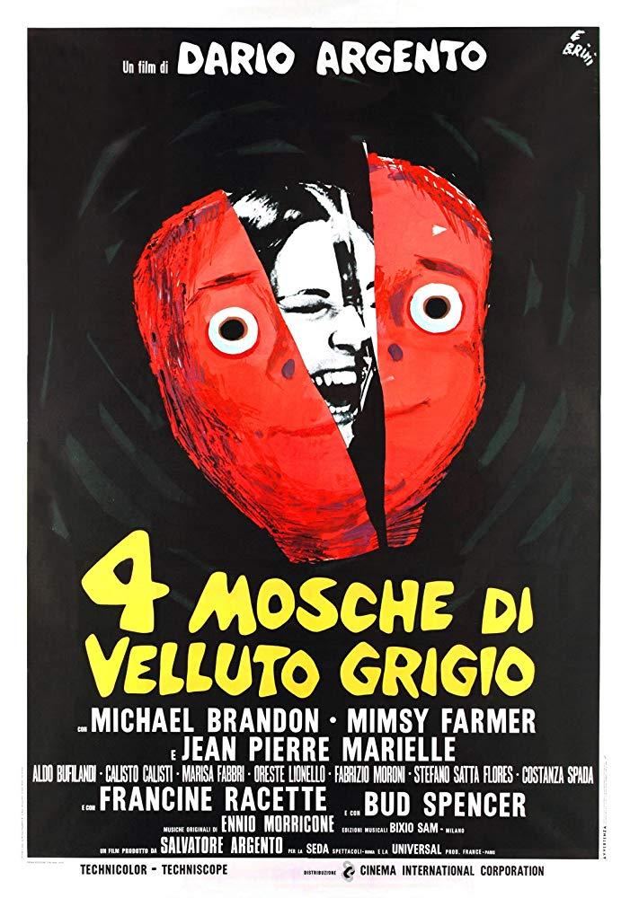 Retour vers le passé :  Quatre mouches de velours gris (1971)