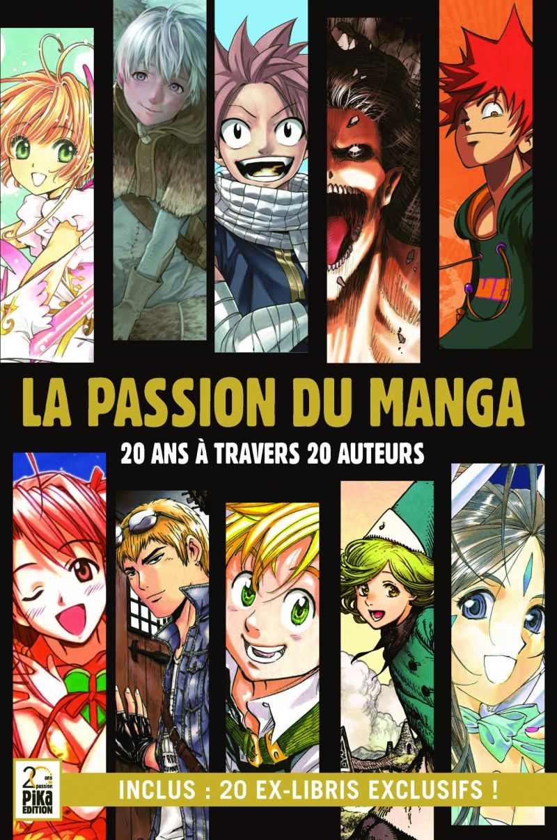 La Passion du Manga arrive chez Pika !