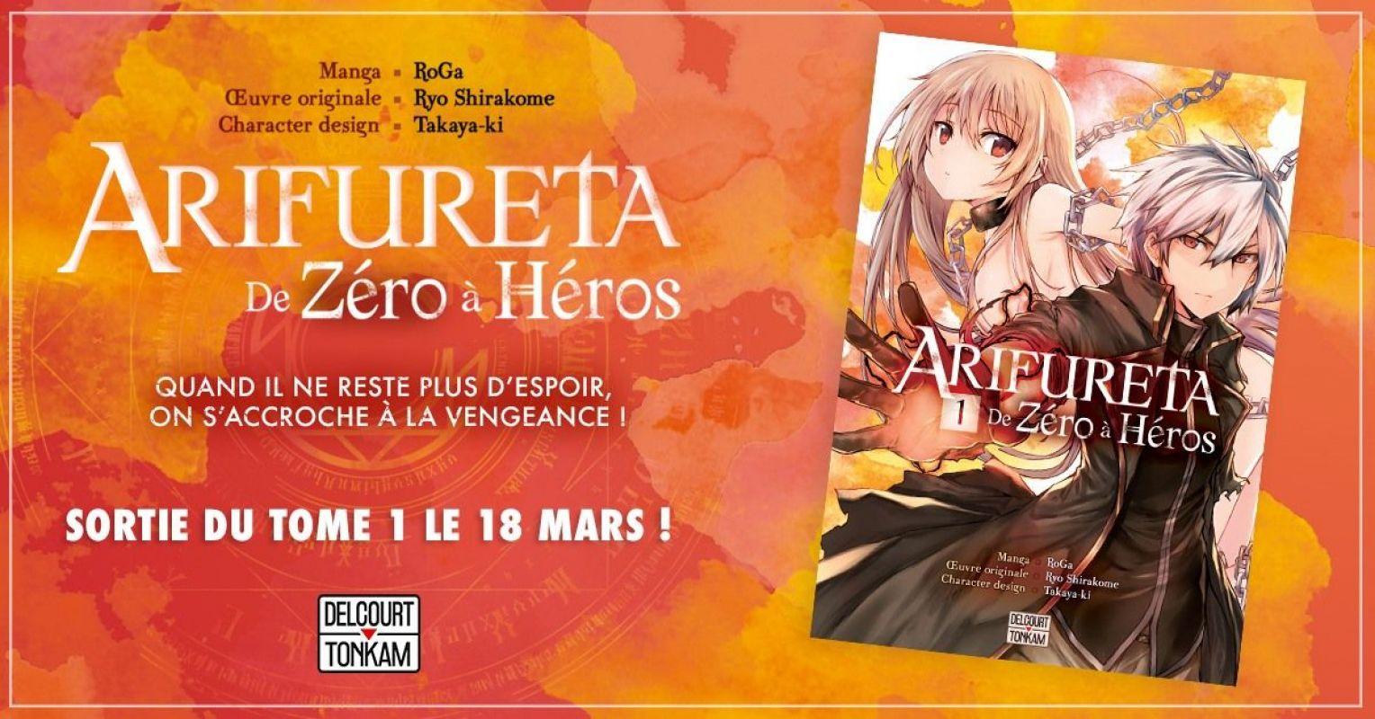 Arifureta - De Zéro a Héros chez Delcourt/Tonkam