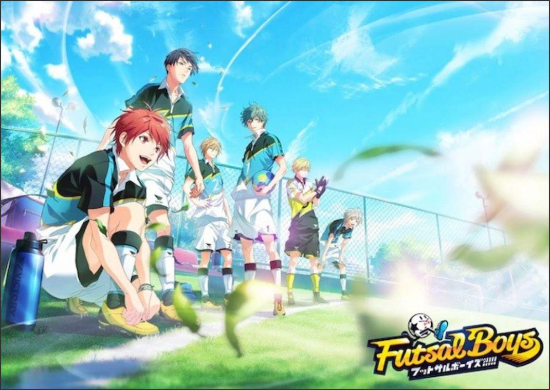 Nouveau teaser pour l'animé Futsal Boys
