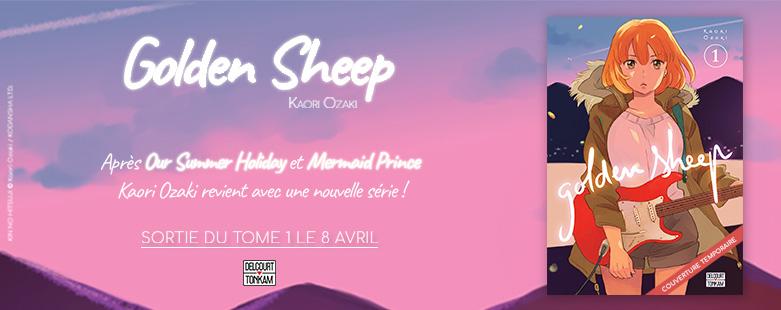 Golden Sheep chez Delcourt/Tonkam