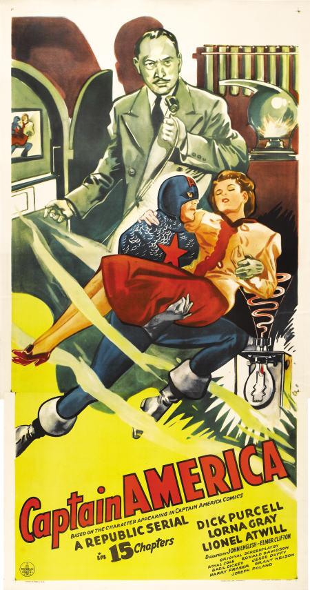 Retour vers le passé :  Captain America (1944)