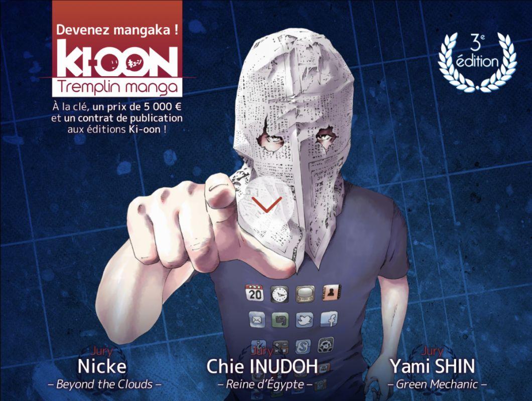 Découvrez les finalistes du Tremplin Manga Ki-oon !