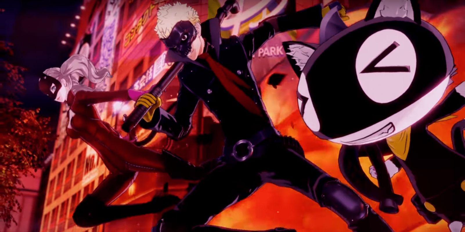 Un nouveau gros trailer pour Persona 5 Scramble The Phantom Strikers