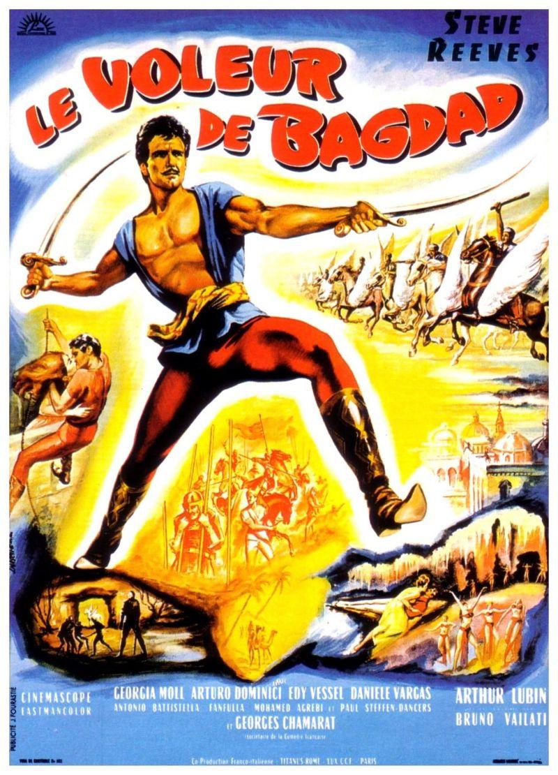 Retour vers le passé :  Le voleur de Bagdad (1961)