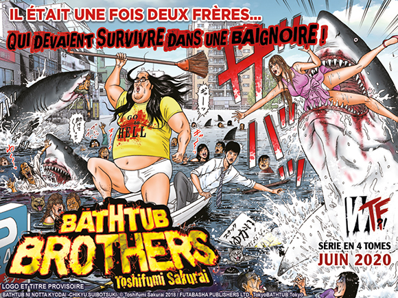 Bathtub Brothers chez Akata