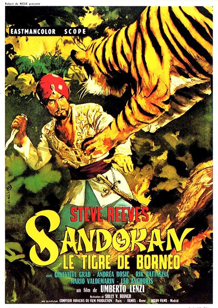 Retour vers le passé :  Sandokan, le tigre de Bornéo (1963)