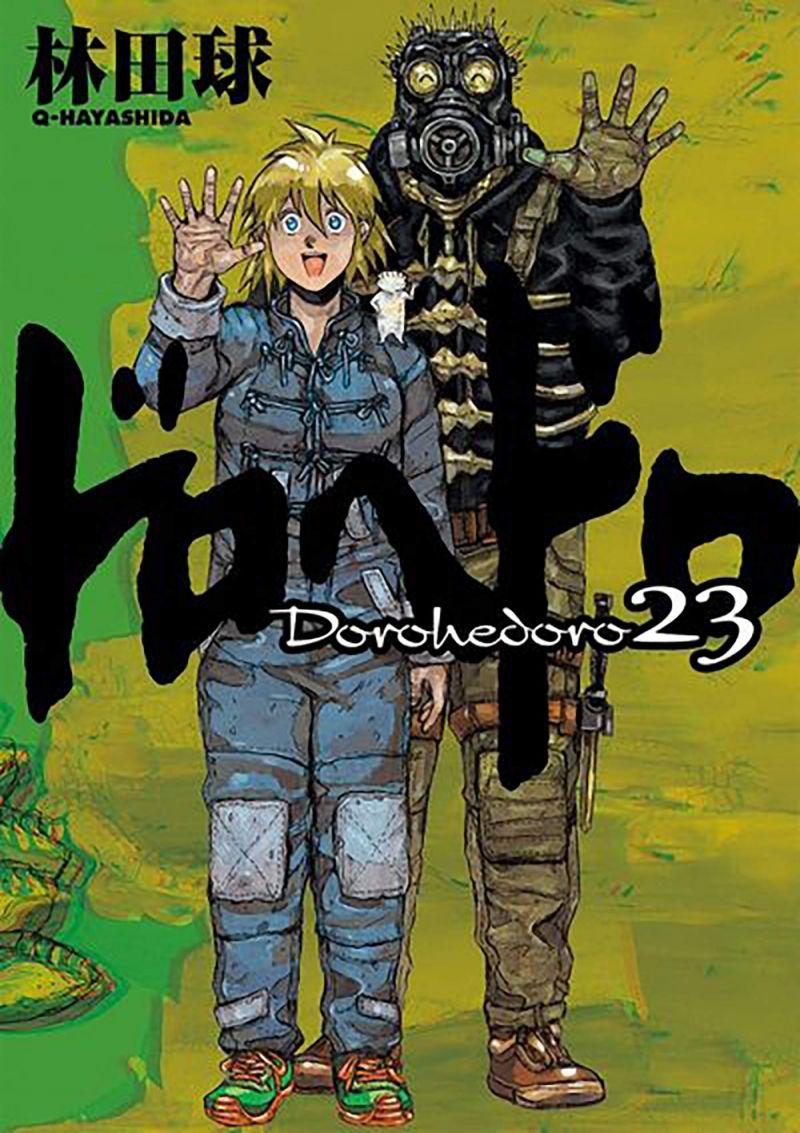 Un nouveau chapitre pour le manga Dorohedoro