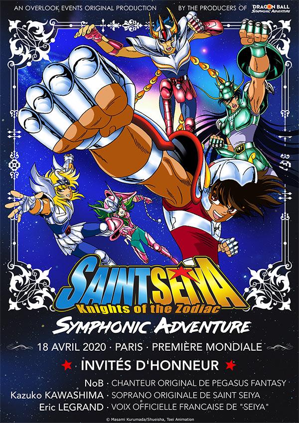 Le concert Saint Seiya Symphonic Adventure en avril au Grand Rex !