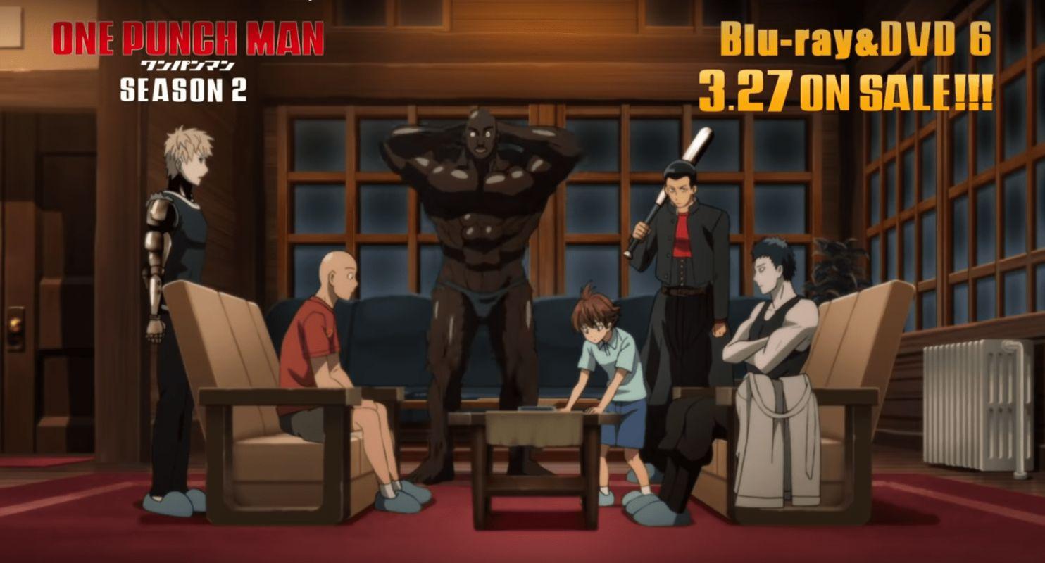 Un extrait pour le 6ème OAV de la saison 2 de One Punch Man