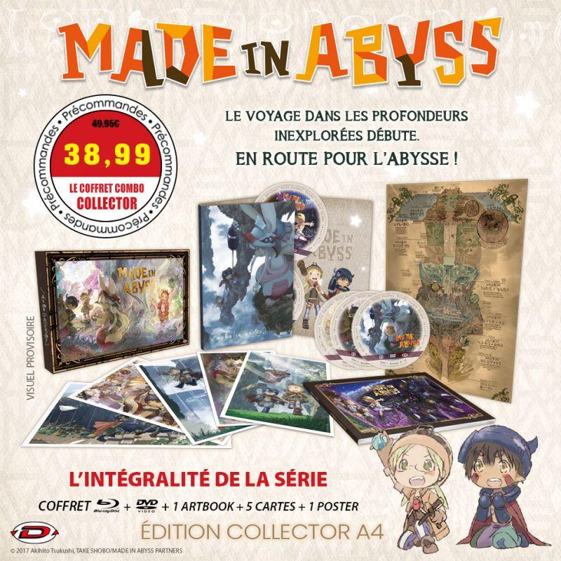 Découvrez l'animé Made in Abyss en DVD et blu-ray !