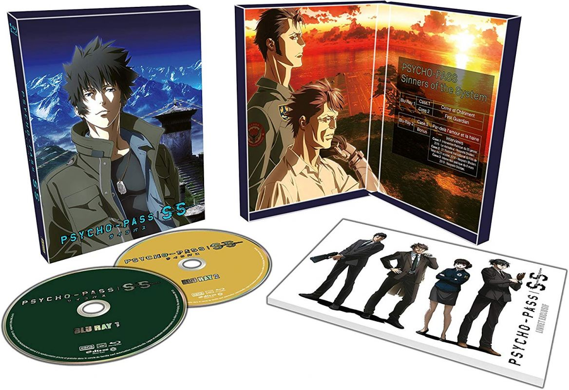 Les films Psycho-Pass Sinners of the System arrivent en DVD et blu-ray !