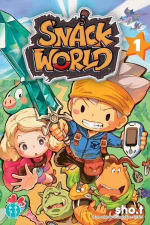 Snack World arrive en manga chez Nobi-nobi !
