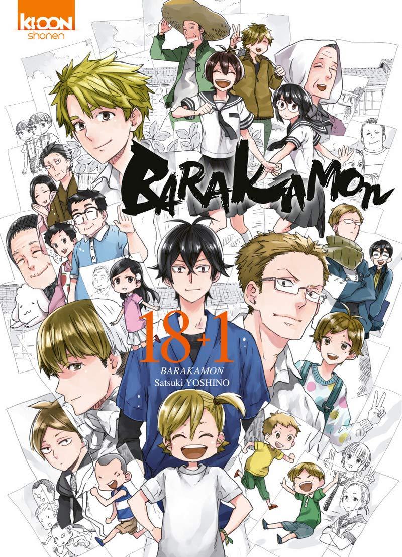 Le tome spécial Barakamon 18+1 bientôt chez Ki-oon !