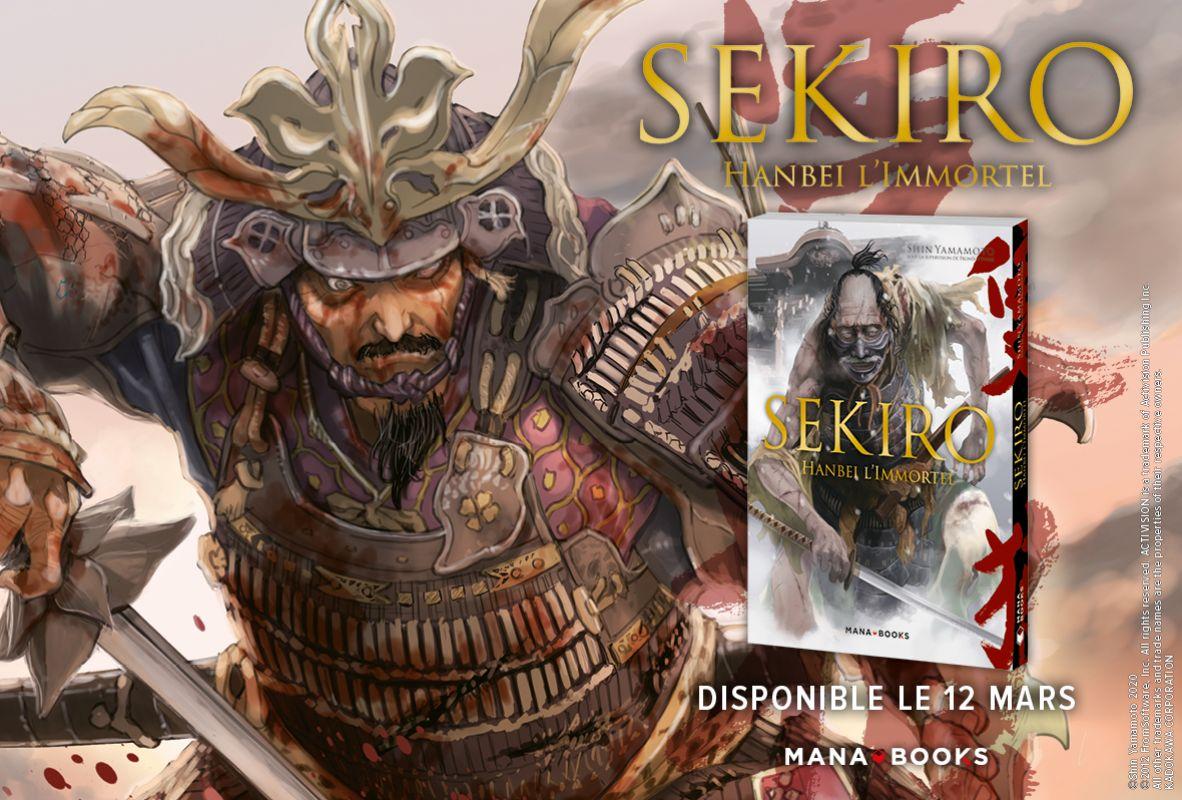 Découvrez les premières pages du manga Sekiro : Hanbei L'Immortel !