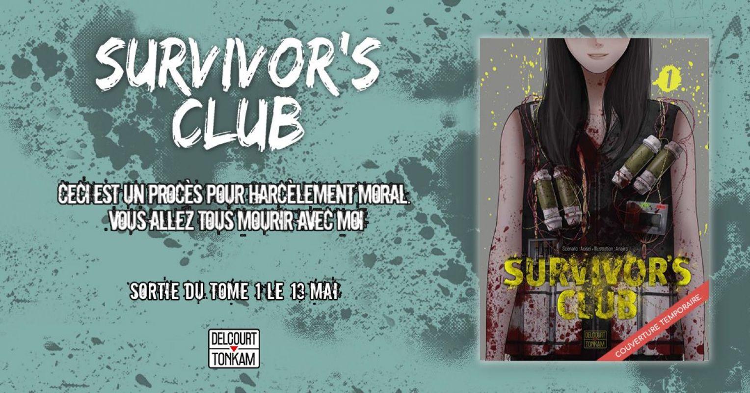 Survivor's Club chez Delcourt/Tonkam
