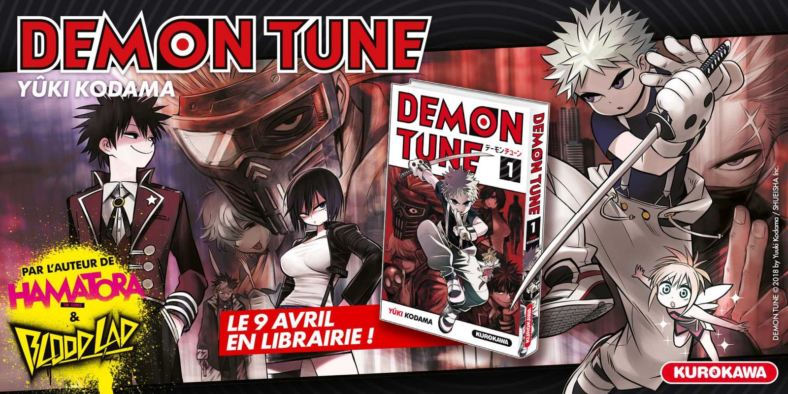 Demon Tune chez Kurokawa