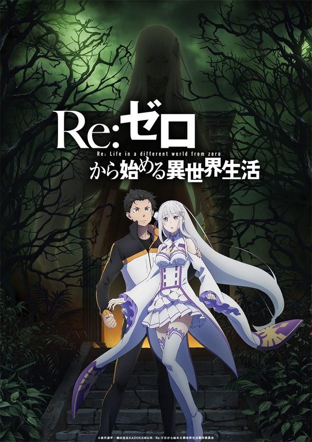 La saison 2 de l'animé Re:Zero Kara Hajimeru Isekai Seikatsu reporté !