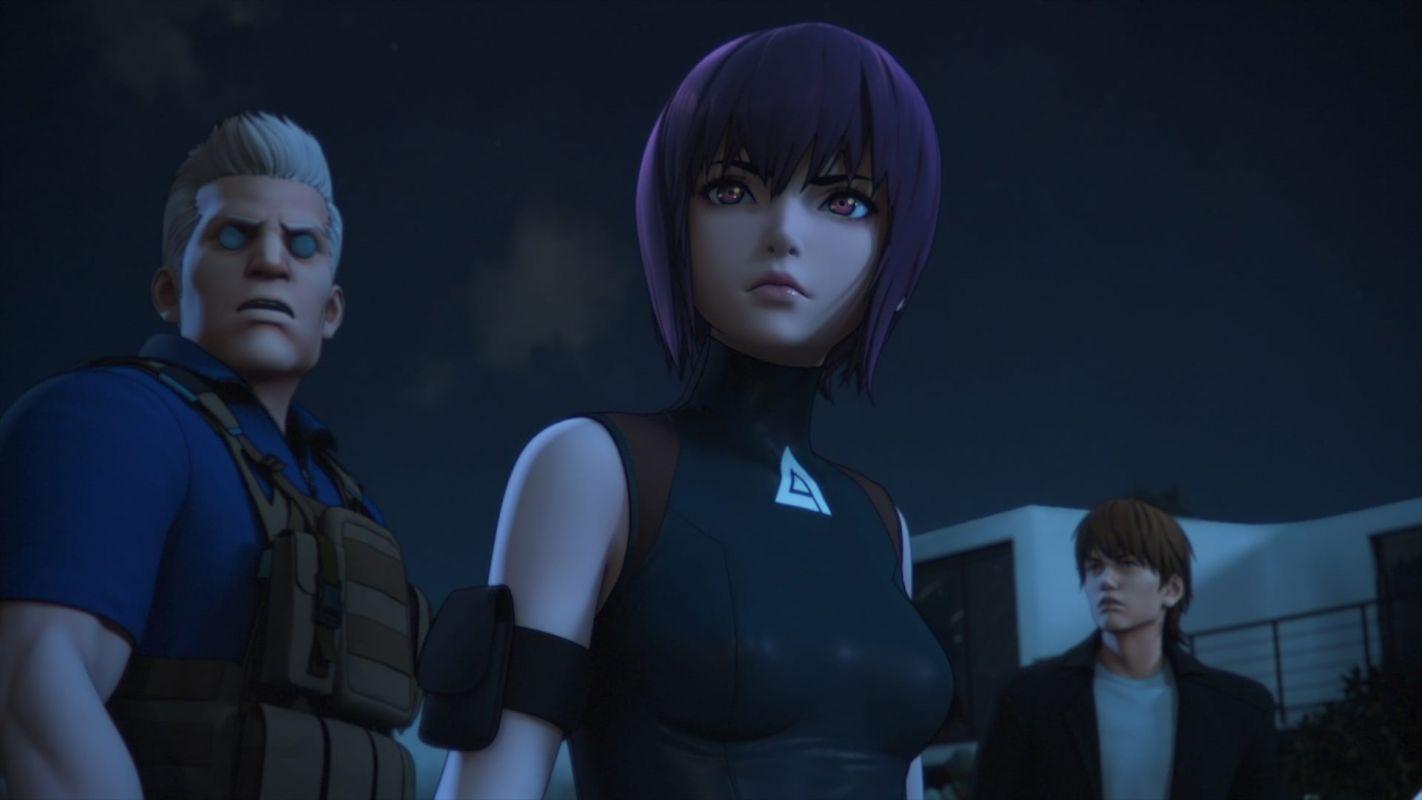 Une salve de nouvelles images pour l'animé Ghost In The Shell SAC 2045 !