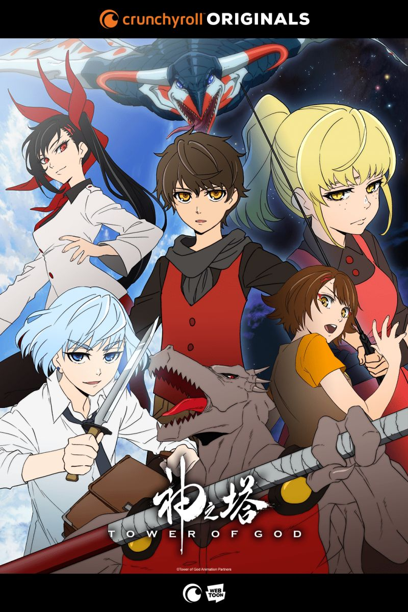 Un character trailer pour l'animé Tower of God !