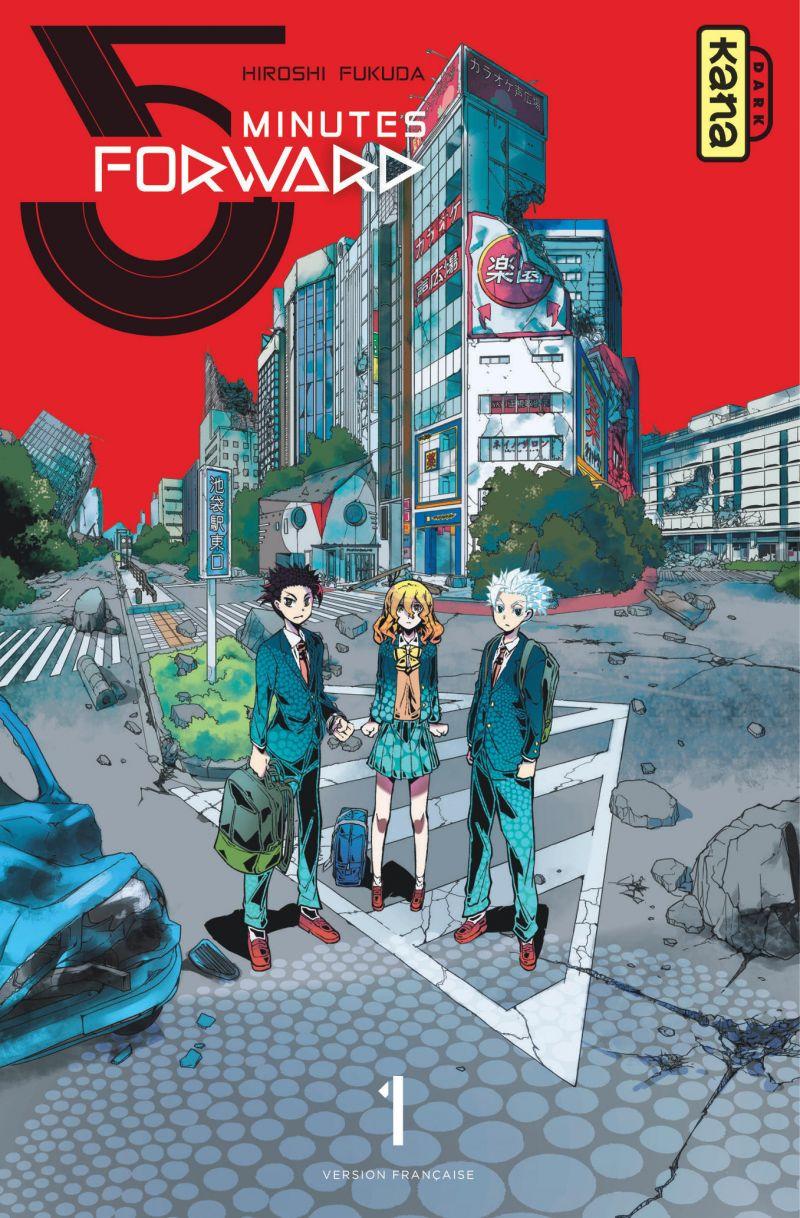 Découvrez les premières pages du manga 5 Minutes Forward !