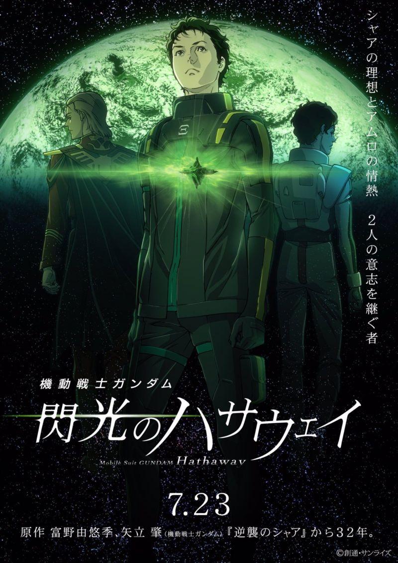 Un nouveau teaser pour le film d'animation Mobile Suit Gundam Hathaway !