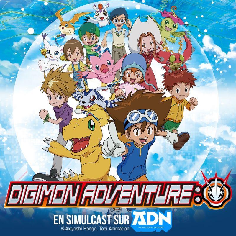 Digimon Adventure: en simulcast sur ADN et Crunchyroll !