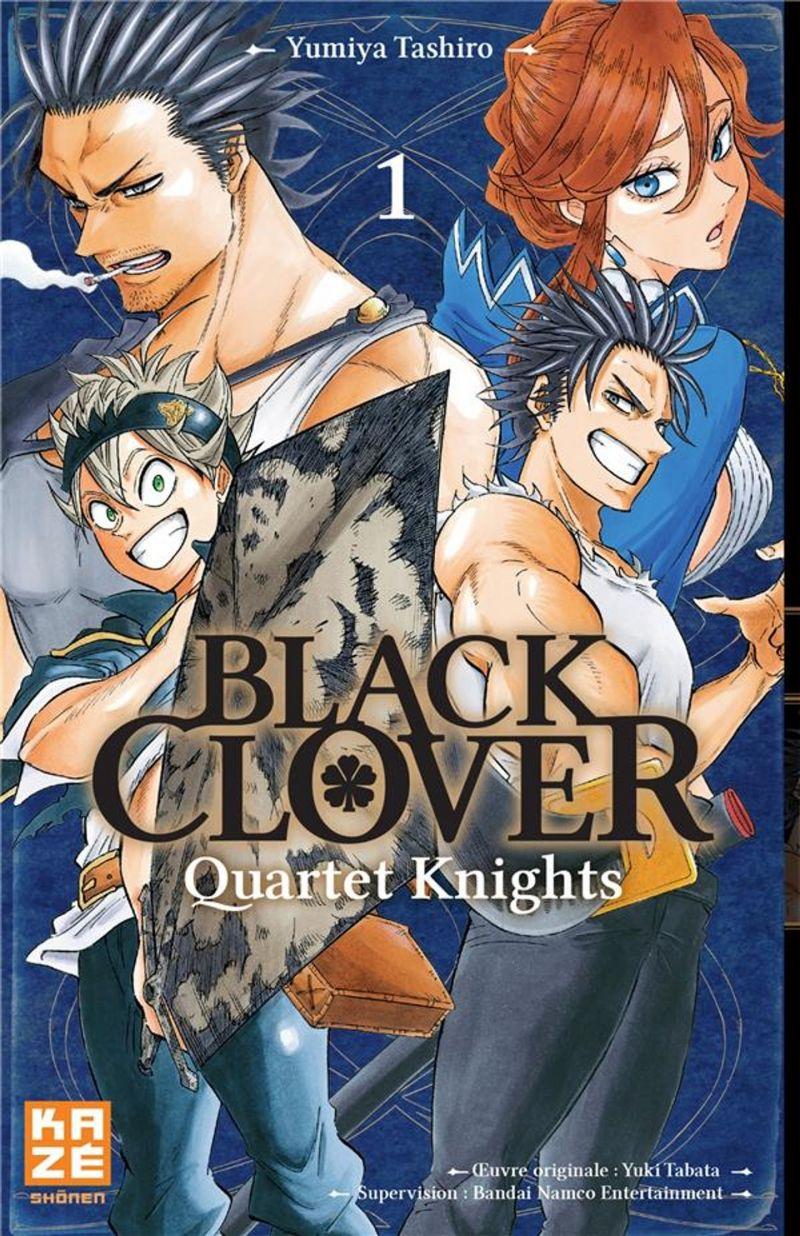 Le manga Black Clover Quartet Knights se termine !