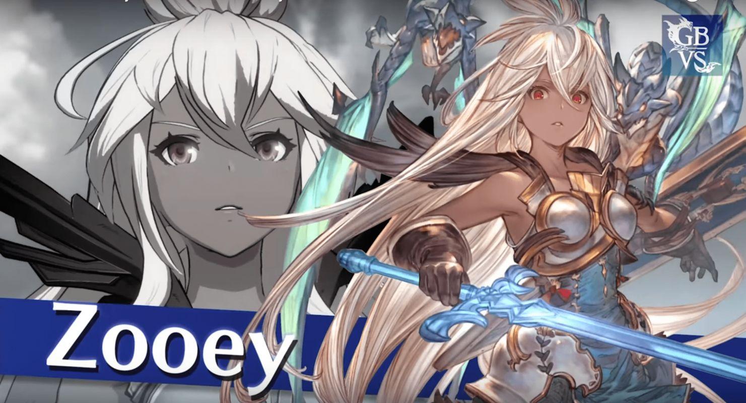 Un trailer pour l'arrivée de Zooey dans le jeu Granblue Fantasy Versus !