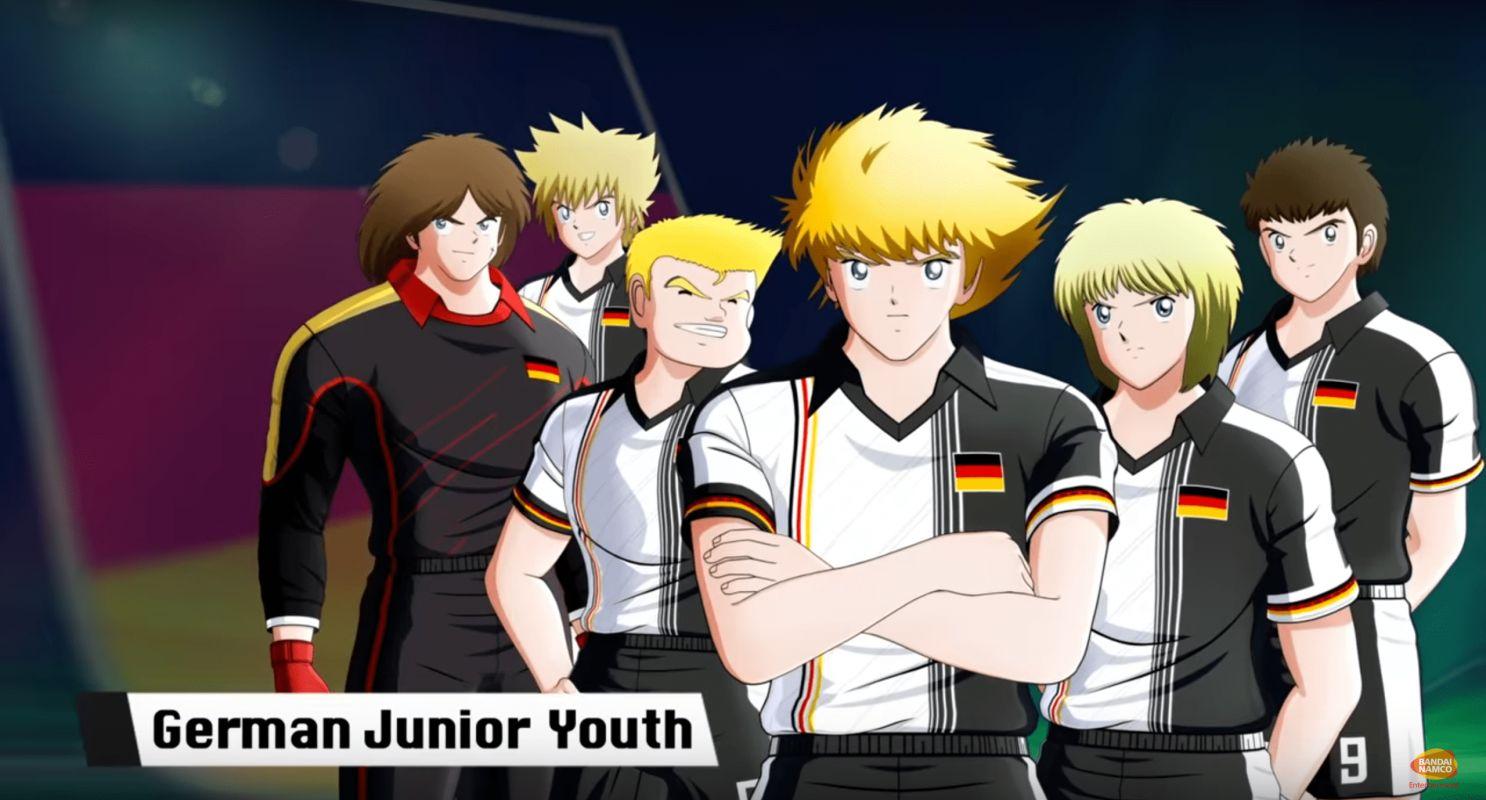 L'équipe d'Allemagne se dévoile dans un teaser pour le jeu Captain Tsubasa : Rise of the New Champions !
