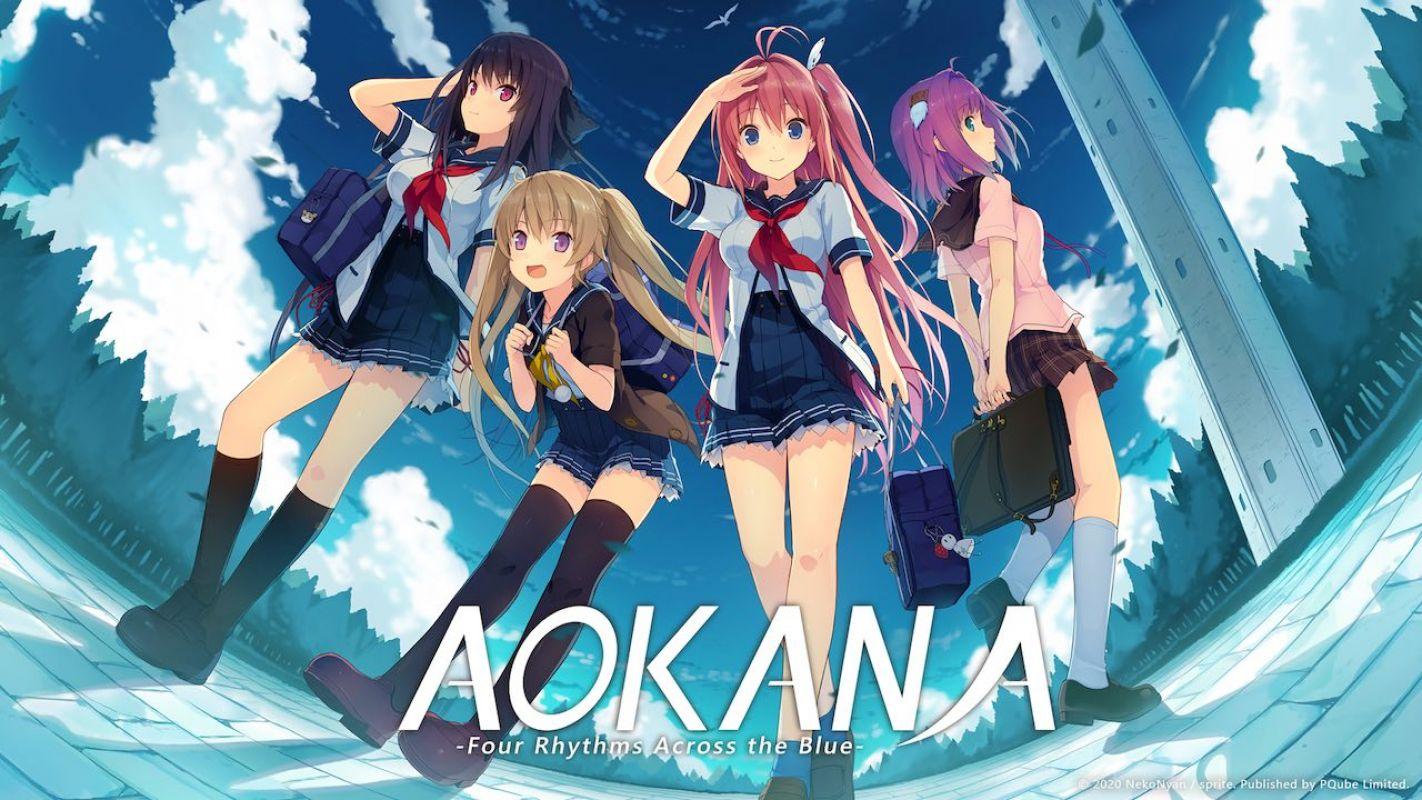 Le visual novel Ao no Kanata no Four Rhythm sort en France cet été !