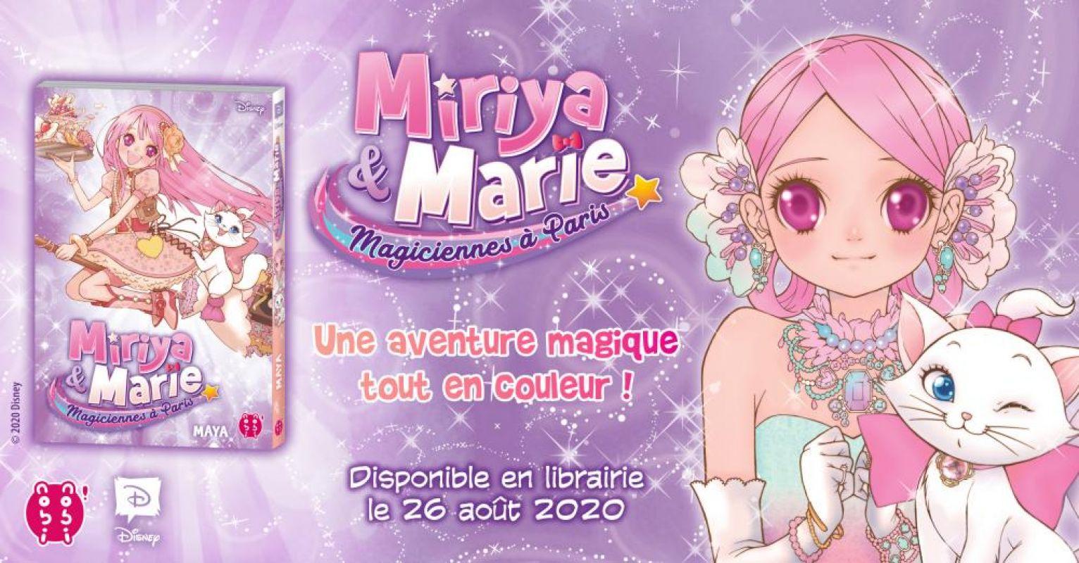 Miriya et Marie - Magiciennes à Paris chez nobi-nobi