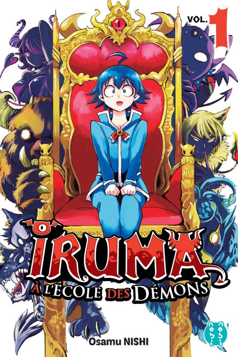 Iruma a l'École des Démons chez nobi-nobi !