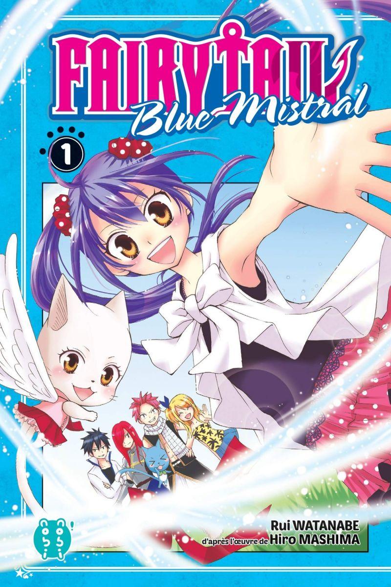 Une nouvelle édition de Fairy Tail - Blue Mistral chez nobi-nobi !