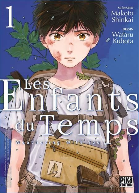 Le manga Les Enfants du Temps chez Pika