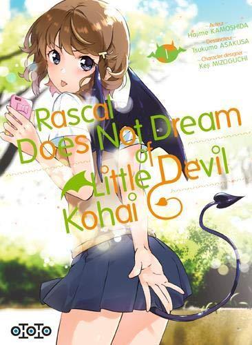 Rascal Does Not Dream of Little Devil Kohai chez Ototo